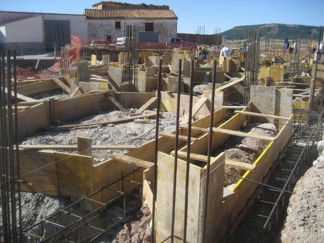 Arquitecto Técnico Paterna, Cimentación