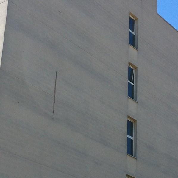 Fachada monocapa. Arquitecto Técnico en Valencia