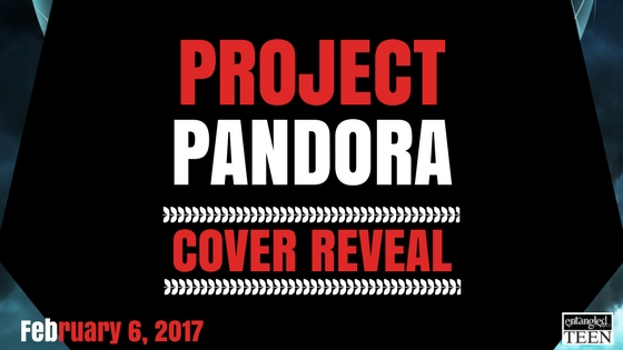 Project Pandora Cover Reveal Cover Reveal: Project Pandora by Aden Polydoros!