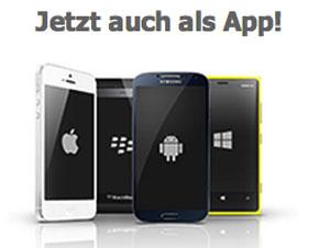 Entdecke Rüsselsheim jetzt auch als kostenlose App für Dein Smartphone - Klick auf die Grafik!