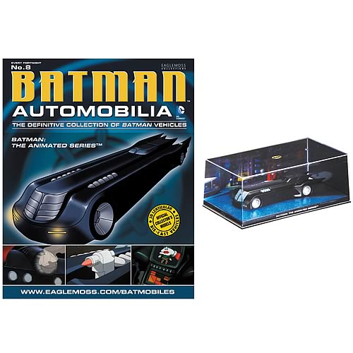 Batman Animated Series Batmobile and Collector Magazine