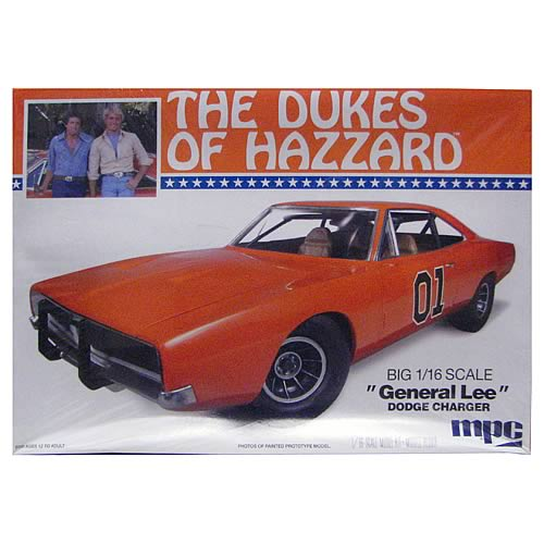 Dukes of Hazzard General Lee 1969 Charger Model Kit