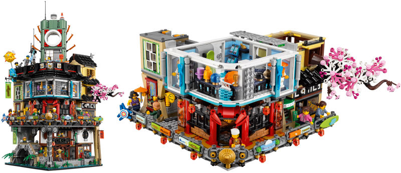 The LEGO Group Announces Building Sets Based On The LEGO     NINJAGO     The LEGO Group today announced that The LEGO     NINJAGO     Movie will spin its  way off the big screen and into playrooms around the world beginning August  2017