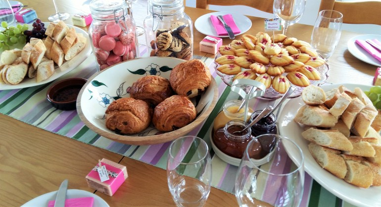 French Patisserie Themed Baby Shower