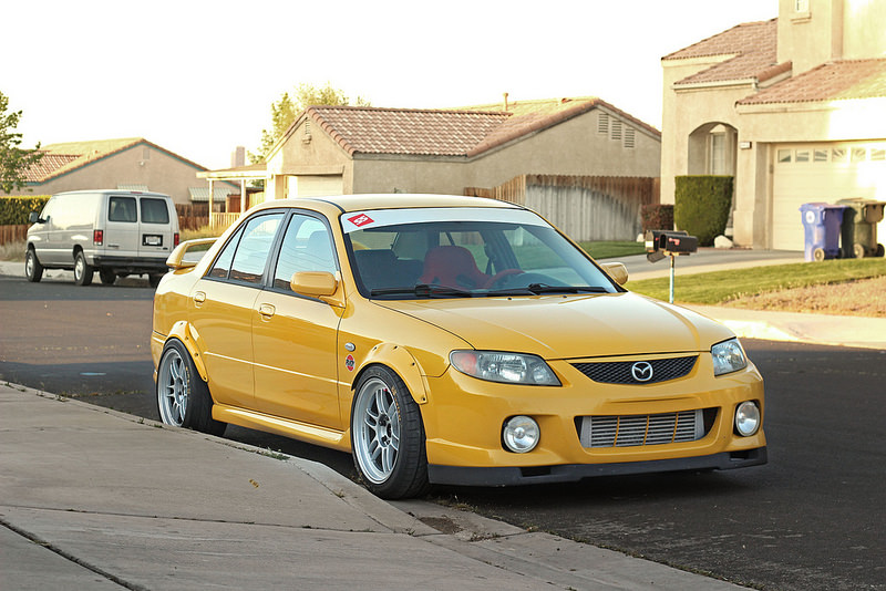 Mazdaspeed Protege – Tastefully Modded – Bargain Deal
