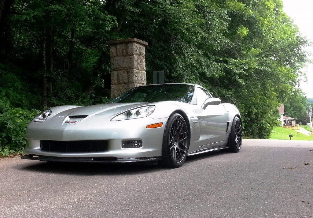 550whp C6 Z06 – Built LS7 Motor – For Sale