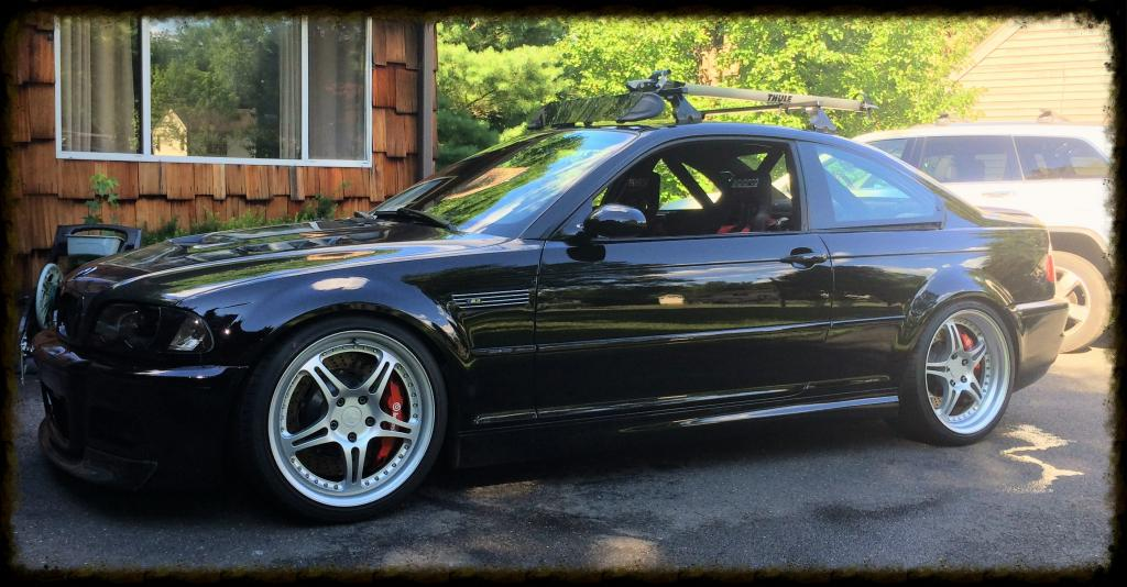 Active Autowerke supercharged E46 M3 – Black Beast