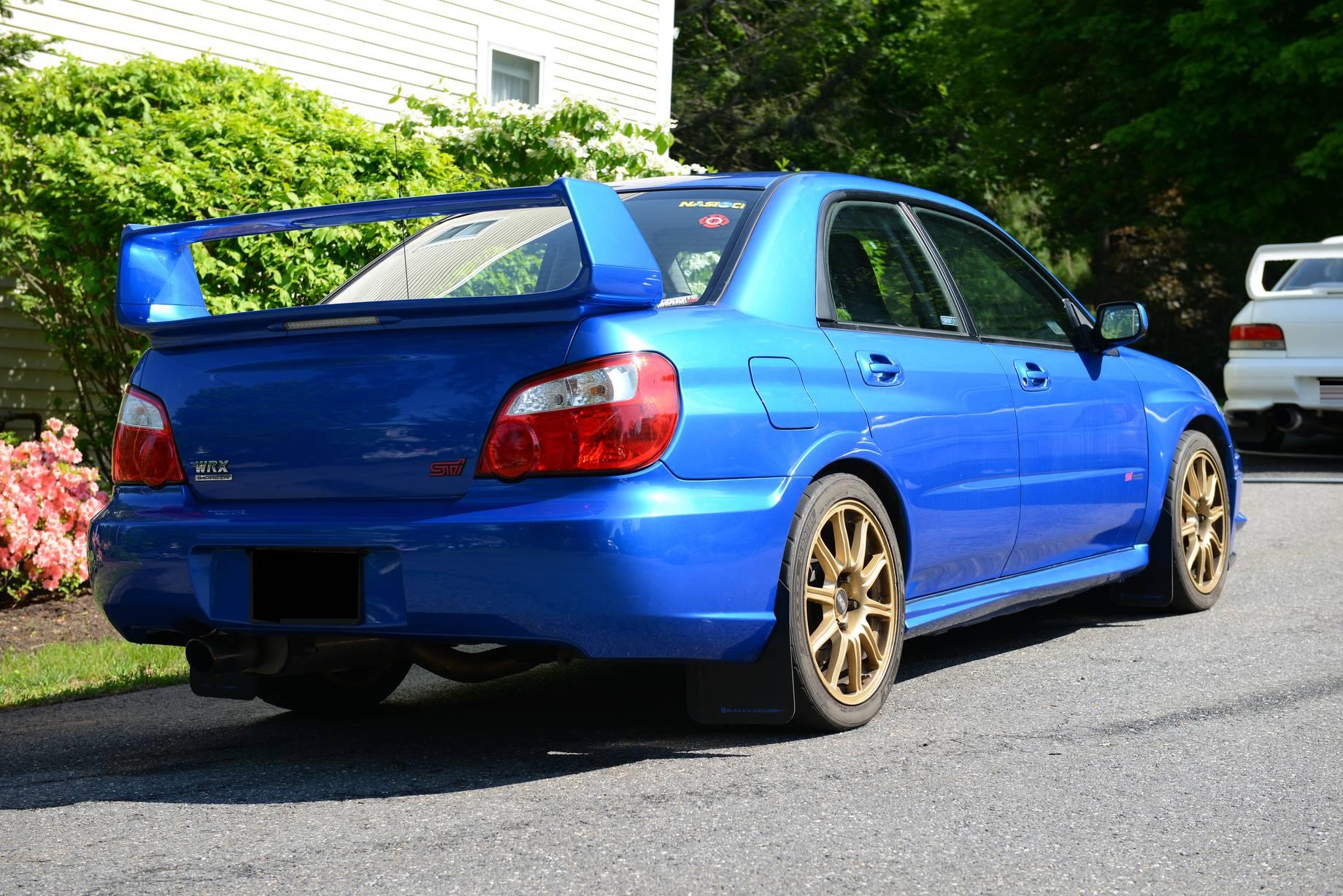 Modified Subaru STi – Clean and Track-Ready