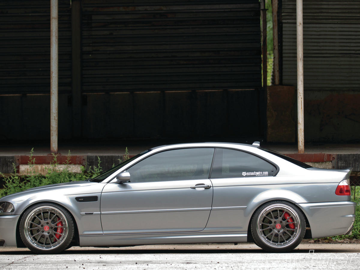Supercharged E46 M3 – 435hp Eurotuner Cover Car