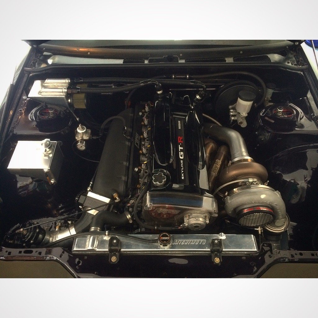 RB26 Nissan 240SX – Godzilla Power