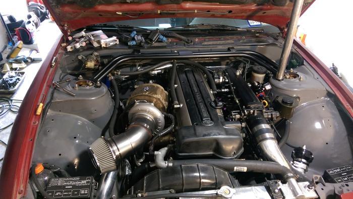 2JZ 240SX – GTX35R Turbo – 430whp