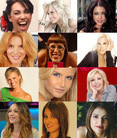 Personajes mujeres conductoras panelistas hermosas e for Ultimos chimentos dela farandula argentina 2016