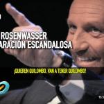 Filtran escandaloso audio de una pelea de Leo Rosenwasser con su exesposa