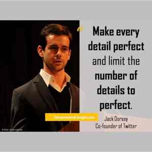 #startupquote #quote #twitter #entrepreneur #JackDorsey #entrepreneurial_insights