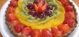 Tarta de frutas frescas