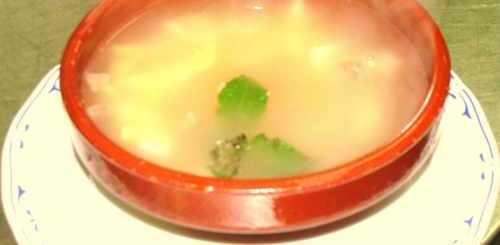 sopa-de-pan-con-jamón