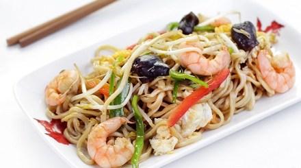 Wok fideos arroz