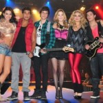 Show da banda de Rebelde na final do Ídolos