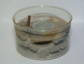 第2図 直径15cmのクロオオアリ用の人工巣