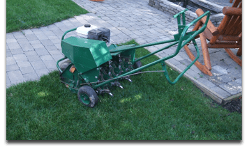 core-aeration-lawn-landscaping-lafayette