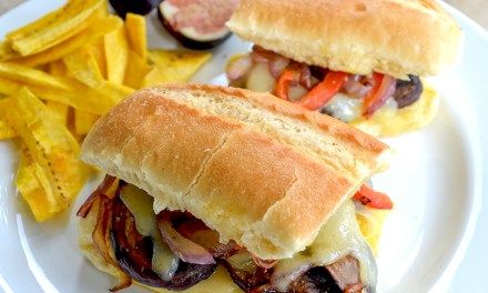 The Veggie Cuban Sandwich
