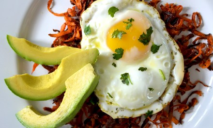 Sweet Potato Shreds and Eggs