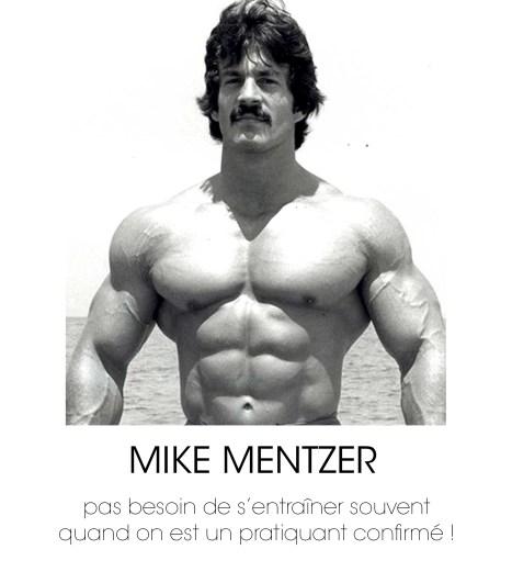 mike mentzer prise de masse pectoraux biceps abdominaux