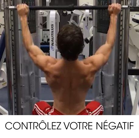 musculation débutant control du mouvement
