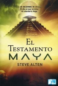 El testamento maya - Steve Alten  portada