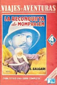 La reconquista de Mompracem - Emilio Salgari portada