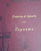 Espasmo - Federico De Roberto portada