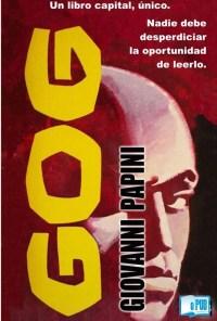Gog - Giovanni Papini portada
