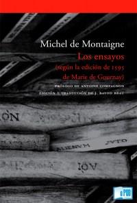 Los ensayos - Michel de Montaigne portada