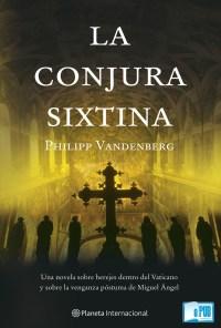 La conjura sixtina - Philipp Vandenberg portada