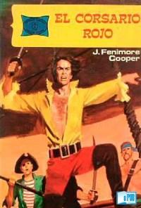 El corsario rojo - James Fenimore Cooper portada