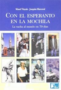 Con el esperanto en la mochila - Manel Vinyals & Joaquim Marcoval portada
