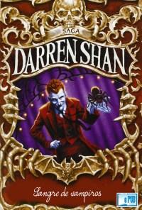 Sangre de vampiros - Darren Shan portada