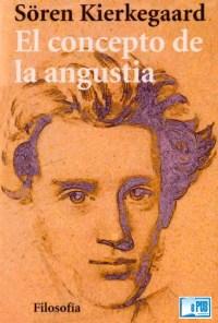 El concepto de la angustia - Soren Kierkegaard portada