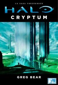 Halo cryptum - Greg Bear portada