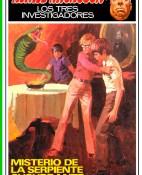 Misterio de la serpiente susurrante - M. V. Carey portada