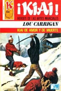 Kiai de amor y de muerte - Lou Carrigan portada