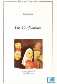 Las confesiones - Jean-Jacques Rousseau portada