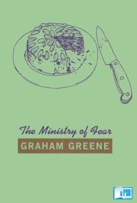 The ministry of fear - Graham Greene portada