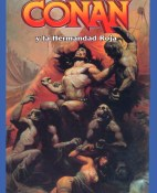 Conan y la hermandad roja - Leonard Paul Carpenter y L. Sprague de Camp portada