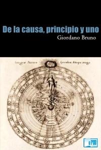 De la causa, principio y uno - Giordano Bruno portada