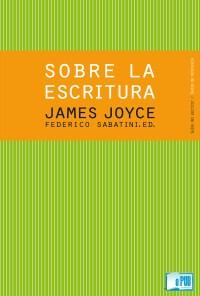 Sobre la escritura - James Joyce  portada