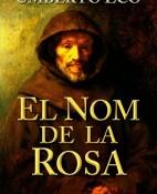 El nom de la rosa - Umberto Eco porrtada