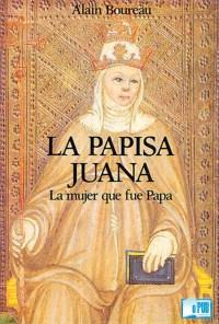 La papisa Juana - Alain Boureau portada