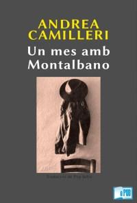 Un mes amb Montalbano - Andrea Camilleri portada