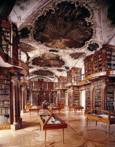 Abbey Library of Saint Gall, Switzerland